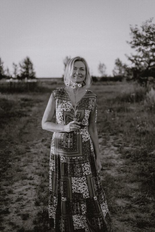 Anna Plowiec - portrait by Ewa Kara