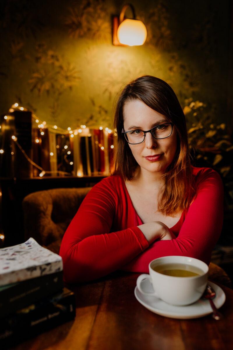 Marta Marecka - portrait by Ewa Kara